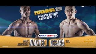 BAMMA 19: (Co-Main Event) Marc Diakiese vs Jack McGann