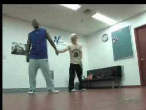 Jang Woo Hyuk - Dance rehearsal with Skeeter Rabbit