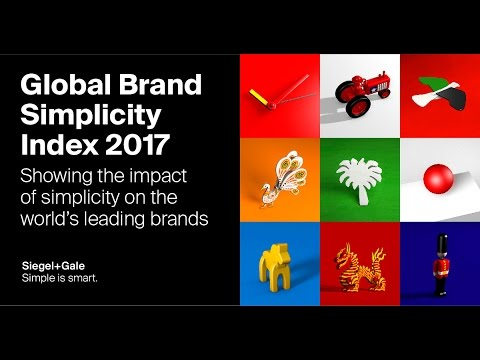 #SimplicityPays: Introducing the Global Brand Simplicity Index 2017