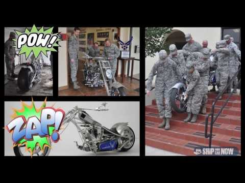 Motorcycle Transport for USAF