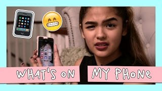 What's On My Phone | Andrea B.