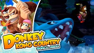 ¡Un nivel, dos portales! - #11 - Donkey Kong Country Tropical Freeze (Switch) DSimphony