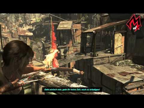 Tomb Raider 2013 - Mission 11-1 Barackenstadt - Offene Wunden und Highway to Hell HD