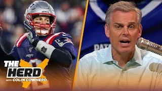 'Tom Brady's heart is not into leaving New England,' Colin likes proposed NFL CBA changes | THE HERD