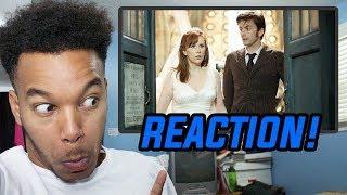 """Doctor Who Season 3 Episode 0 """"The Runaway Bride"""" REACTION!"""