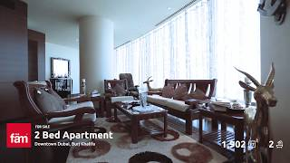 Luxurious2 Bedroom Apartment For Sale at Burj Khalifa, Downtown Dubai