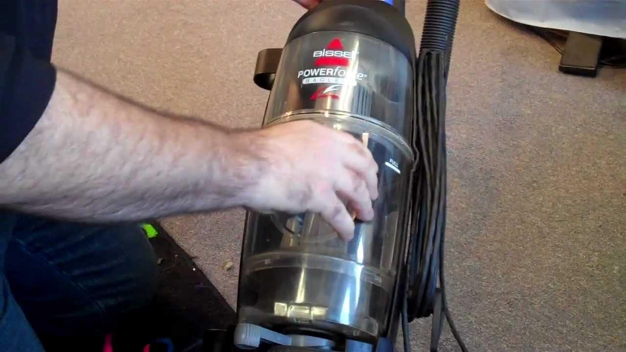 Repair Service Bissell Vacuum Cleaner Change Belt At