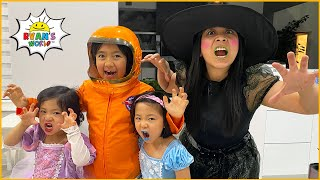 Ryan's Halloween Special Trick or Treat at home!!!