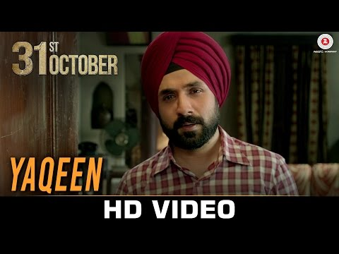 Yaqeen Lyrics - 31st October | Soha Ali Khan & Vir Das