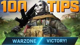 Call of Duty Warzone: 100 Tips To Get More Wins