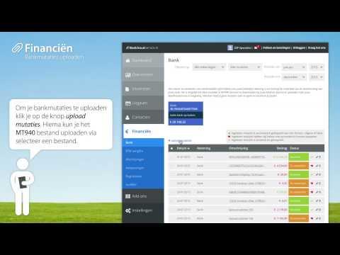 Boekhoudservice.nl - Bankmutaties uploaden