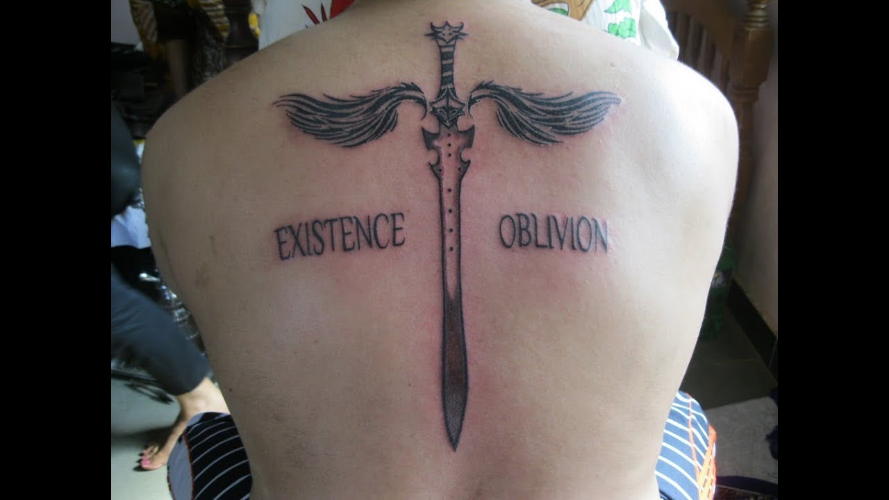 Tattoo Back Symmetric