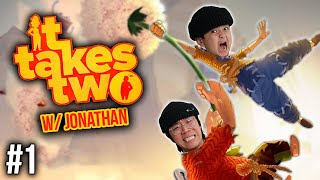 BEST DUO GAME EVER!!! | It Takes Two w/ Jonathan (Pt 1)