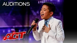 10-Year-Old Peter Rosalita SHOCKS The Judges With