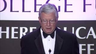 Thomas A. Cole Accepts Thurgood Marshall Legacy Award