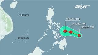 VTC14 |Xuất hiện áp thấp nhiệt đới gần biển Đông, có khả năng thành bão