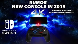 Nintendo Switch - 4K 8GB Console Update In 2019? *Rumor*
