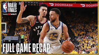 RAPTORS vs WARRIORS | Toronto Knocks Down 17 Three-Pointers | NBA Finals Game 3