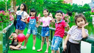 Kids Go To School | Chuns With Best Friends Visit The Children's Park Asia