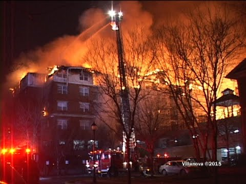Edgewater,nj Fire Department Multiple Alarm