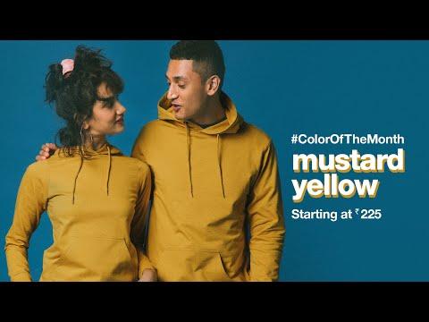 Bewakoof.com | #ColorOfTheMonth October - Mustard Yellow