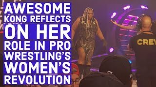 Awesome Kong On Her Role In Women's Wrestling Revolution, New Project Helping Women Of Color