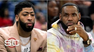 The Lakers won't be putting a max free agent next to Anthony Davis and LeBron - Woj | SportsCenter