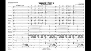 Wicked - Part 1 by Stephen Schwartz/arr. Richard L. Saucedo