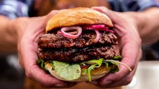 Whiskey Coffee Burger - - How To Grill Burgers