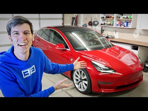 I Bought A Tesla Model 3 - Celebrating 2 Million Subscribers!