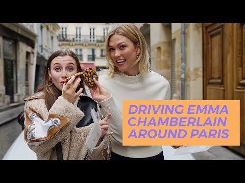 Driving Emma Chamberlain Around Paris | Karlie Kloss