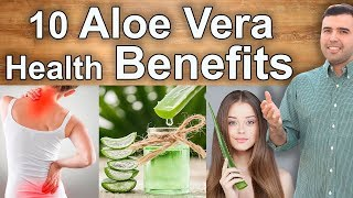 10 Health Benefits and Uses of Aloe Vera – Skin, Digestion, Constipation, Diabetes, Cancer and More