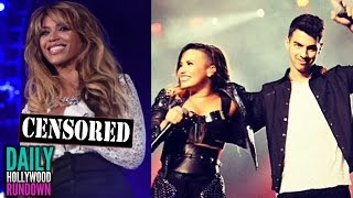 Beyonce's Nip Slip 'Drunk In Love' Performance – Demi Lovato & Joe Jonas Camp Rock Reunion!?