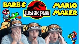 Mega Trolls with Mega Skills: Jurassic Park 0.04% Clear Rate! Mario Maker