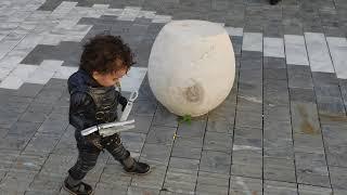 Baby Edward Scissor Hands Illarious Costume