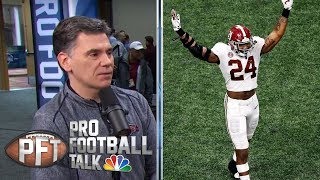 NFL Draft: Terrell Lewis focused on power moves to complement speed | Pro Football Talk | NBC Sports
