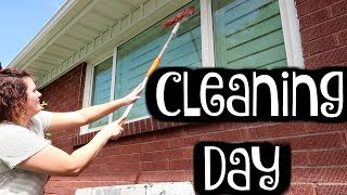 Window Cleaning Routine
