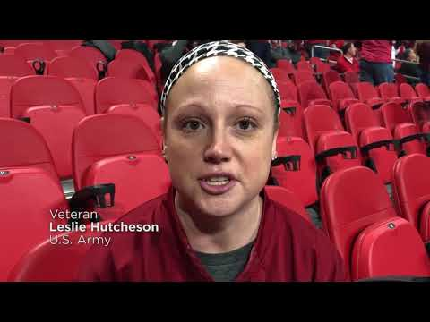 Veterans Experience Dream Game with Wounded Warrior Project