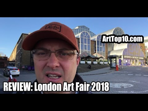 REVIEW: London Art Fair 2018 by Robert Dunt Painter and Founder of ArtTop10.com
