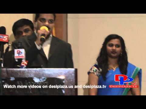 Mr. shiva speaking about CANA (Chiranjeevi Fans Association of North America)