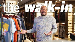 Inside Von Miller's 2,000 sq ft Closet | The Walk-In | GQ Sports