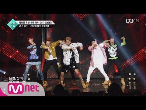 [BOYS24] Unit Red 'GD&Taeyang' Good Boy @1st Unit Contest 20160709 EP.04