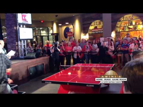 """""""Homers for Health"""" Pingpong Match, Presented by Amini's Galleria"""