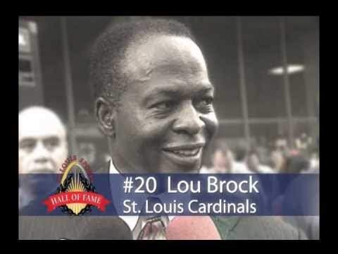 Lou Brock Highlight Video - YouTube