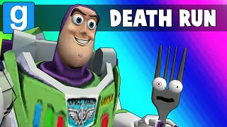Gmod Death Run Funny Moments - Saving Forky from the Toy Story 4 Course! (Garry's Mod)