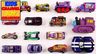 Purple Color Vehicles For Kids Children Babies Toddlers   Best Toddlers Learning Video   Kids TV
