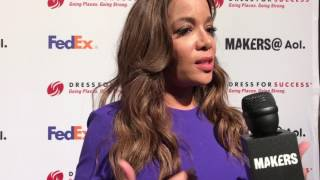 Sunny Hostin on the red carpet