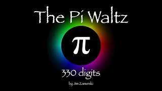 The Pi Waltz - 330 digits - chromatic π base 12