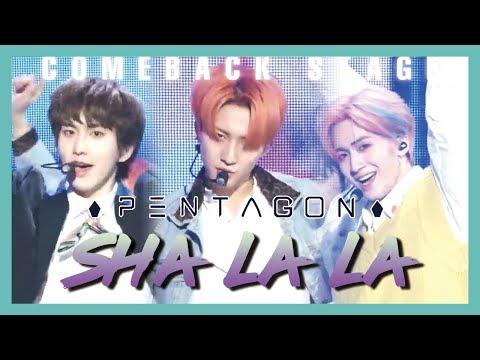 [ComeBack Stage] PENTAGON  - SHA LA LA ,  펜타곤 - 신토불이 Show Music core 20190330