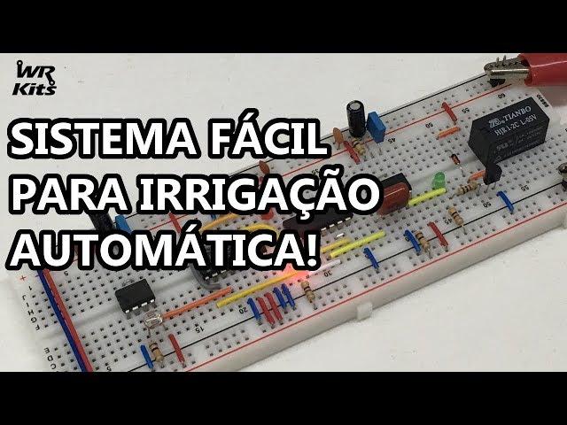 IRRIGAÇÃO AUTOMÁTICA DE 3 EM 3 DIAS! BEM SIMPLES MESMO!